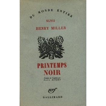 PRINTEMPS NOIR