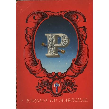 PAROLES DU MARÉCHAL