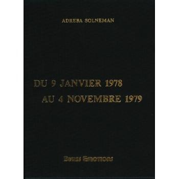 DU 9 JANVIER 1978 AU 4...