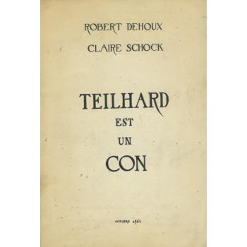 TEILHARD EST UN CON