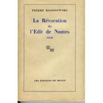 LA RÉVOCATION DE L'ÉDIT DE...